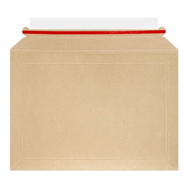 194mm x 292mm - 400gsm Book Mailer - All Board Brown