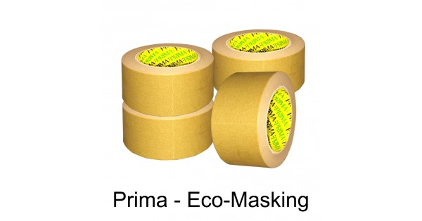 Prima Eco Masking Tape 2 Quot 50mm X 50m Brown Kraft Paper