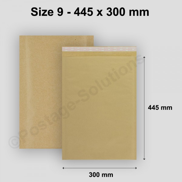 J/6 Size 9 300mm x 445mm Bubble Padded Envelopes - cheap padded envelopes