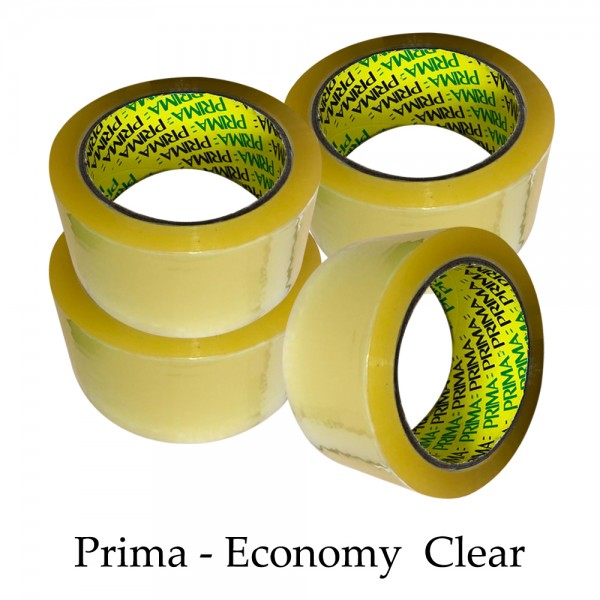 "Prima Clear 2"" inch Parcel Packing Tape 48mm X 66M"